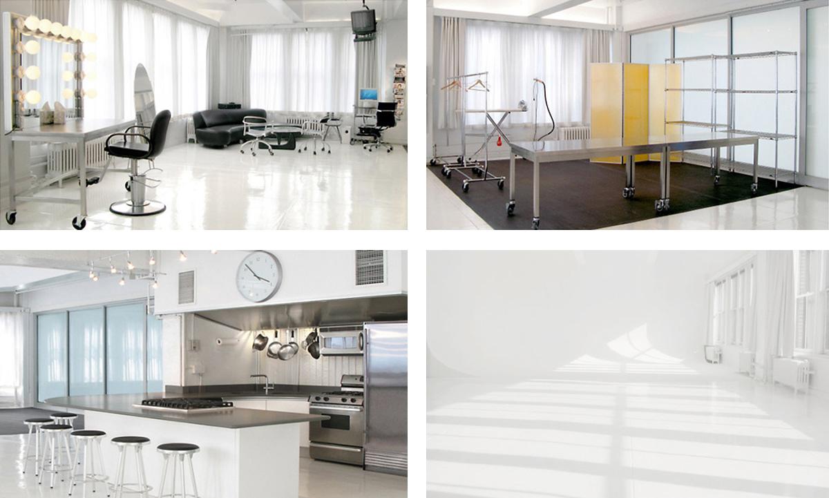 Lounge, Styling Area, Kitchen & Cyc