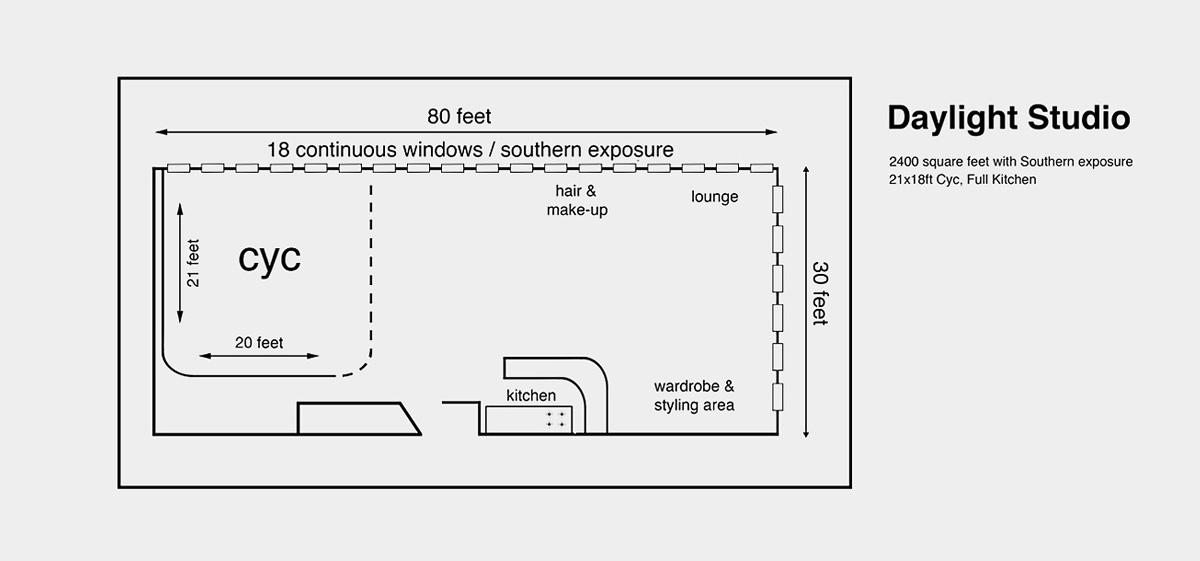 Daylight floorplan