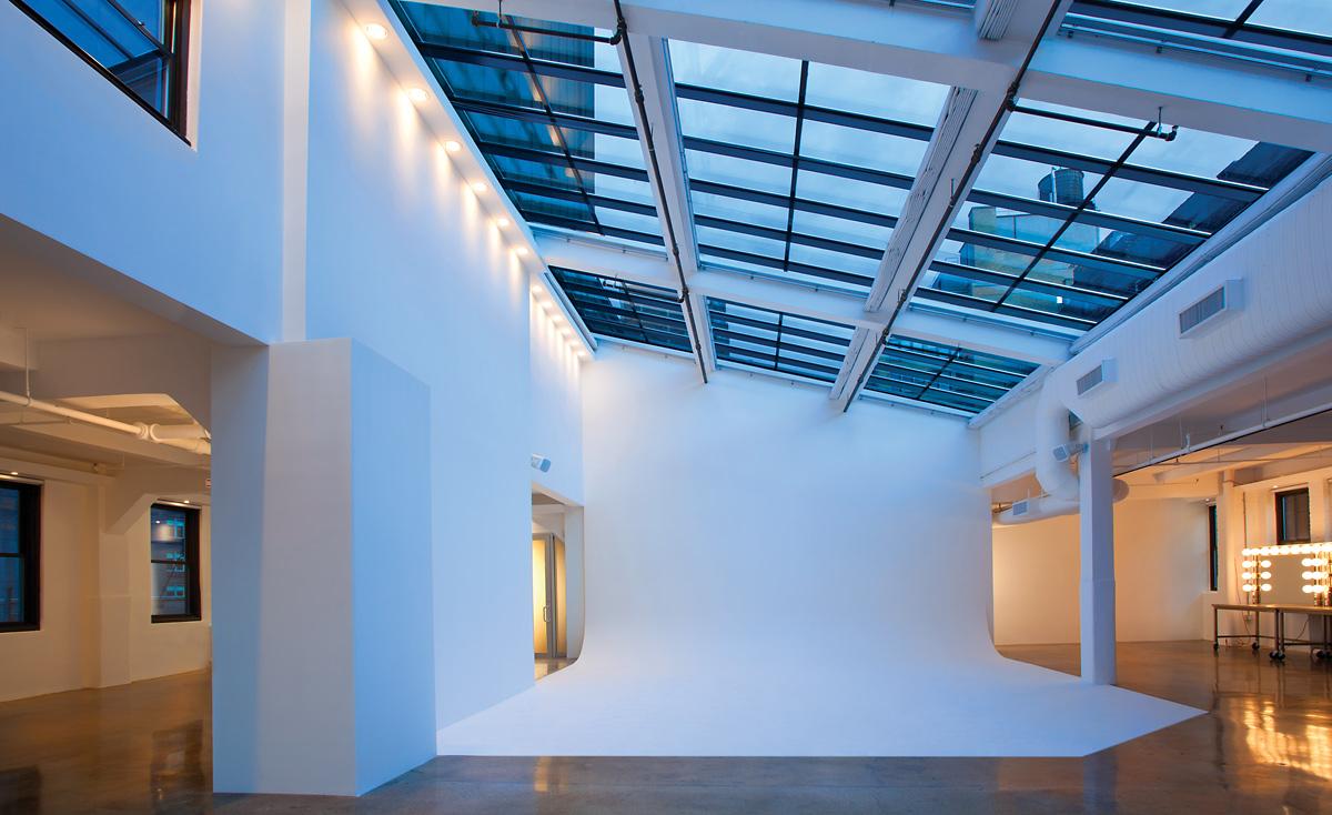 Penthouse Studio at Dusk